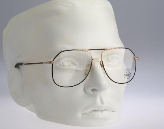 f98e296f87f Vintage aviator eyeglasses Luxottica Gep 1115 80s unisex