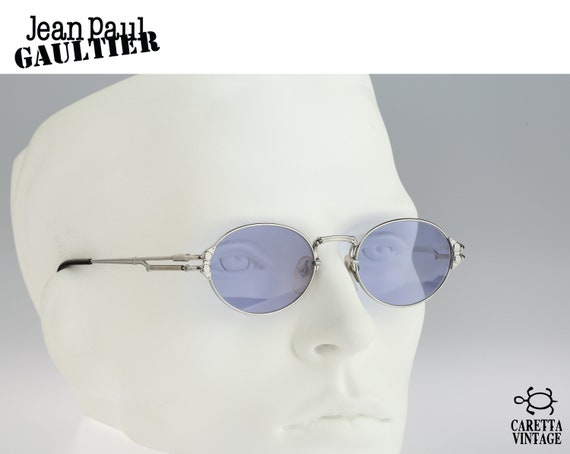 Jean Paul Gaultier 58-6105 rare side shield vintage frames spectacles sunglasses