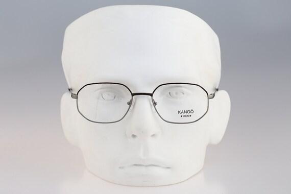 Silhouette M 7171 43 V 6059 Vintage 90s gray and tortoise square eyeglasses frames mens /& womens  NOS