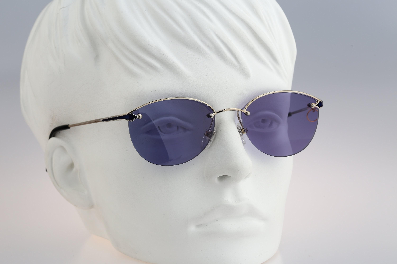 Sonia Rykiel 66-5602 Vintage 90s tinted purple lenses unique
