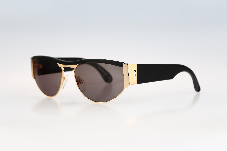 Cat eye sunglasses Silhouette M 8036 Vintage 80s unique