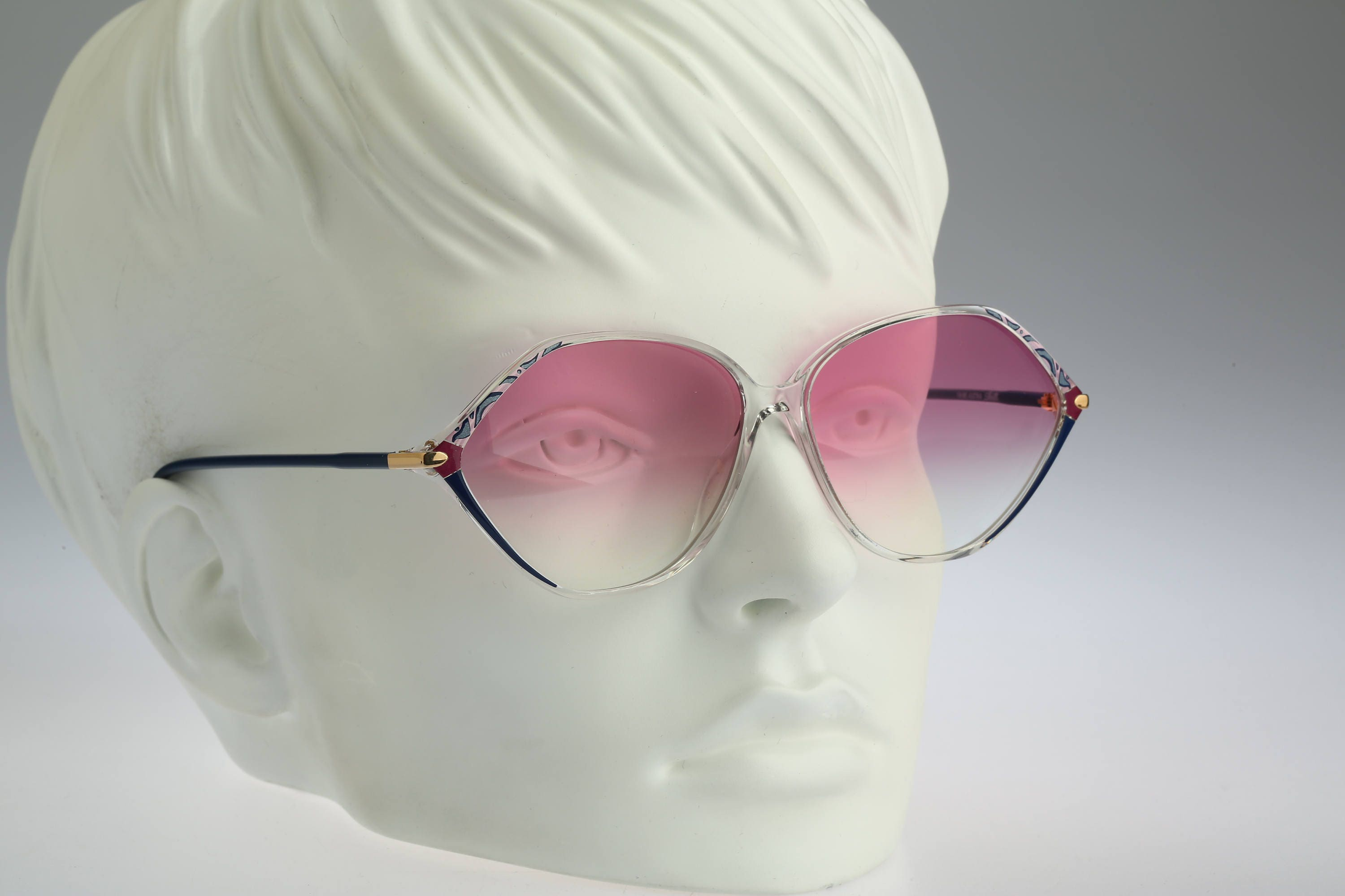Butterfly sunglasses Silhouette M 1776 C 2195 Vintage 80s