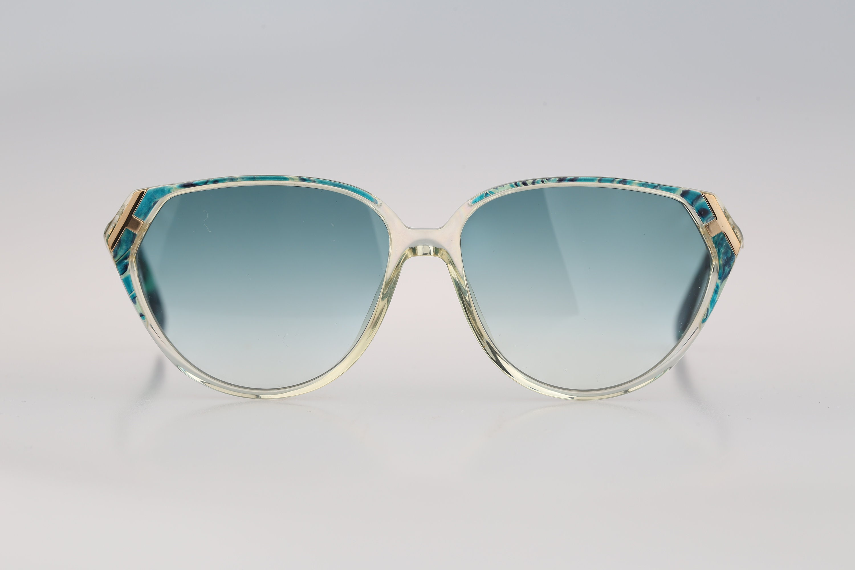 Silhouette M 1324 20 C 2169 Vintage 80s tinted lenses clear &
