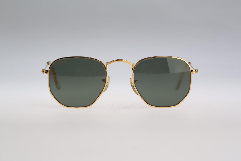Vintage Sonnenbrille Ray Ban B & L W0980 WRAV Sechskant