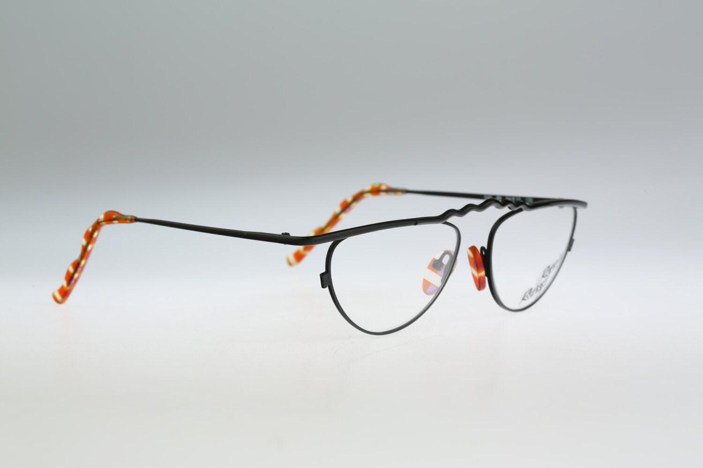 Robert Rudger 540 89 Vintage 90s único negro ojo de gato