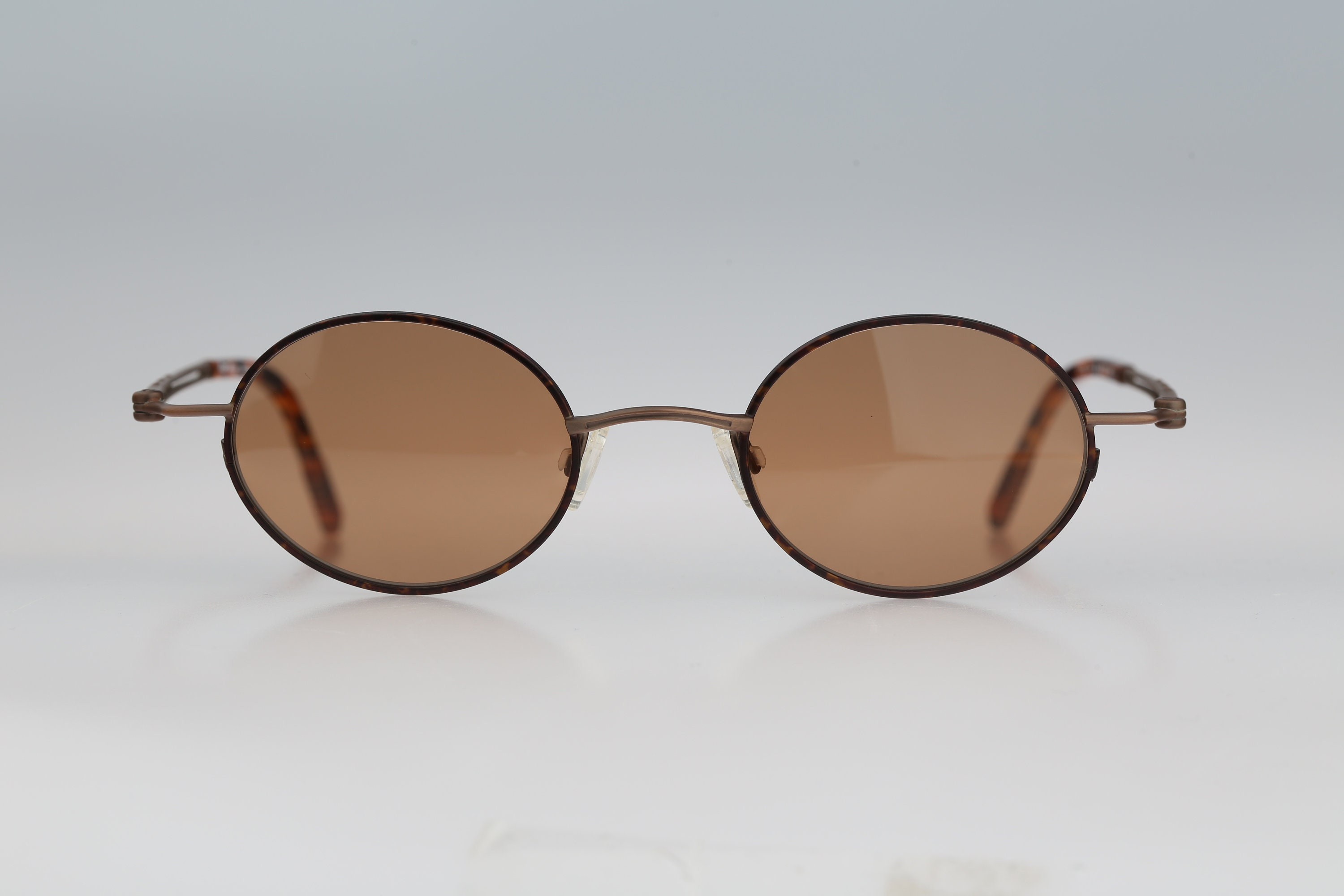 Small round sunglasses Robert Rudger 2255 174 1N Vintage 90s