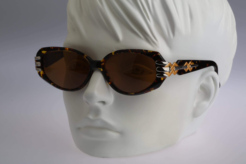Anteprima Manu Vintage 90s unique gold & tortoise cat eye