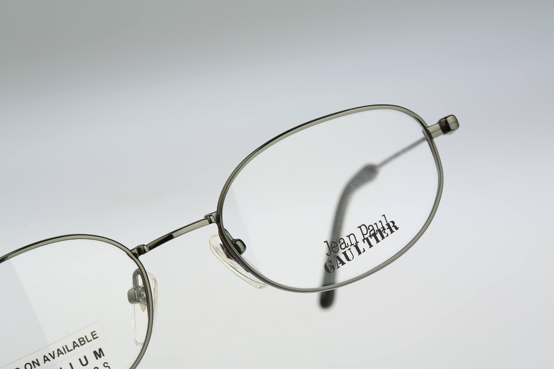 Jean Paul Gaultier 55-0027 Titanium Vintage 90s gray unique