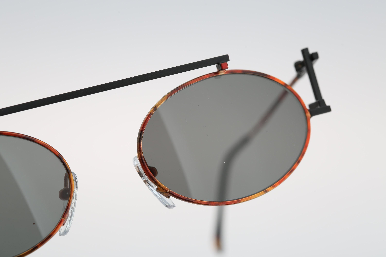 Steampunk sunglasses men Casanova RVC 4 C 03 Vintage 90s