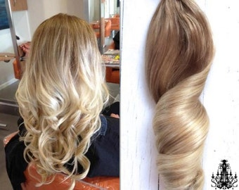 Items Similar To Bohemian Blonde Ombre Hair Ash Golden Blonde Ombre