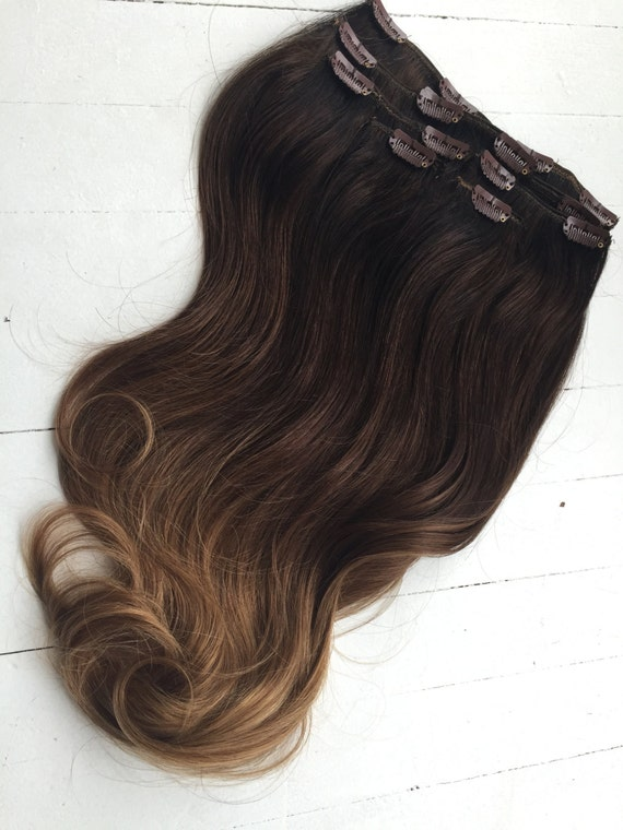 Ombre Hair Extensions Victoria Secret Hair Lily Aldridge Etsy
