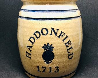 Vintage Haddonfield Crock 1985 Strinsky