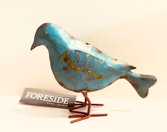 Foreside Recycled Metal Bird
