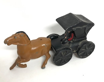 Amish cast-iron salt and pepper shaker
