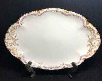 Haviland Limoges Asparagus Plate
