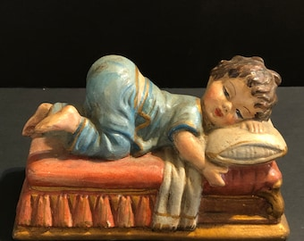 Sleeping Child Figurine
