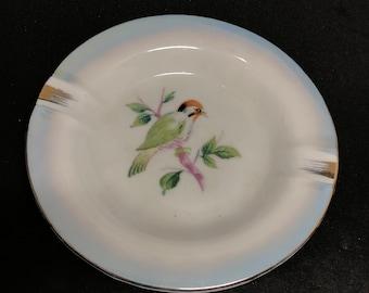 Little Porcelain Bird Ashtray