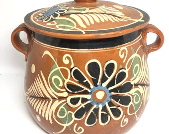 Mexican pottery casserole