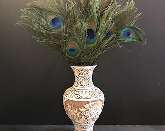 Carved Resin Vase Taiwan
