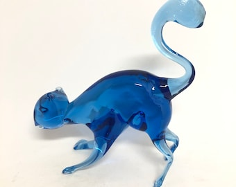 Blue Squirrel Glass Menagerie