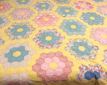 Vintage Quilt for crafting projects