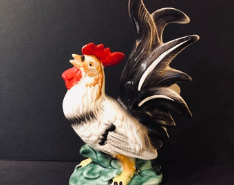 "9 1/4"" Rooster Figurine AS IS"
