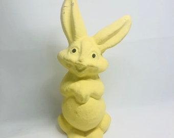 Vintage Paper Pulp Bunny
