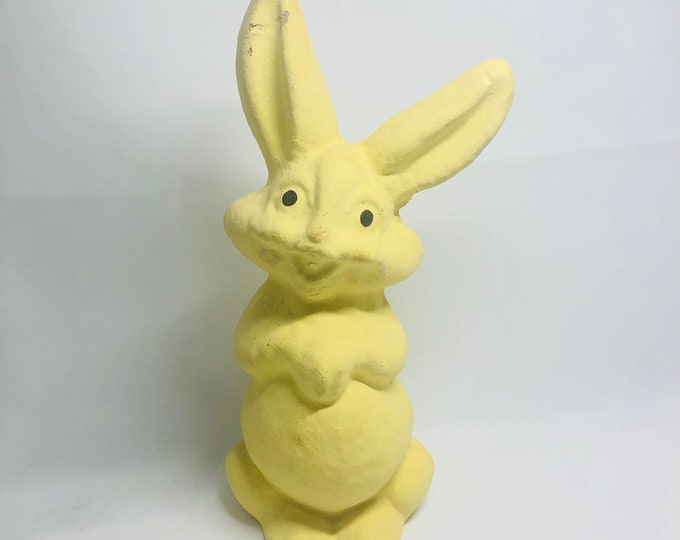 Featured listing image: Vintage Paper Pulp Bunny