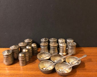 Sterling Silver Salt and Pepper lot