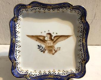 Mottahedeh Feder Eagle Dish
