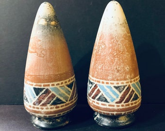 Pair of Southwestern Clay Finials or Ornament