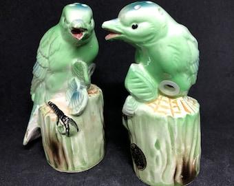 Green Bird Salt & Pepper