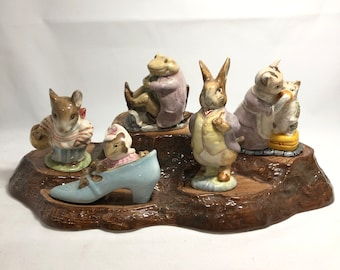 Beswick Beatrix Potter Circle of Friends