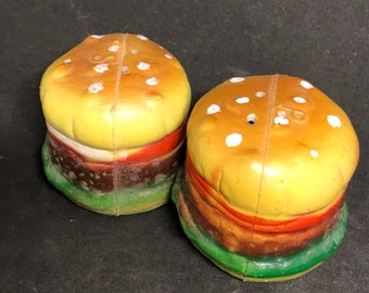 Vintage Hamburger Salt & Pepper