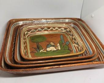 Rectangular Mexican Nesting Bowls