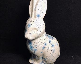 Blue flecked Hare Bunny