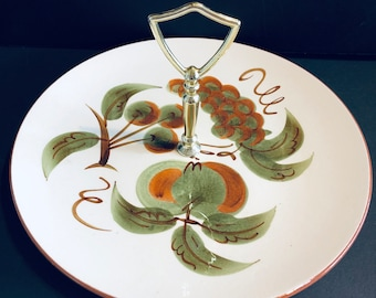 Stangl Orchard Song Cookie Plate
