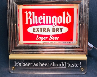 Rheingold Extra Dry illuminates