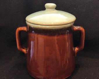 Redwing Pottery ? Sugar Bowl
