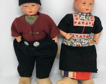 Vintage Dutch Dolls