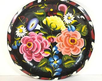 """11"""" Floral Batea Bowl"""