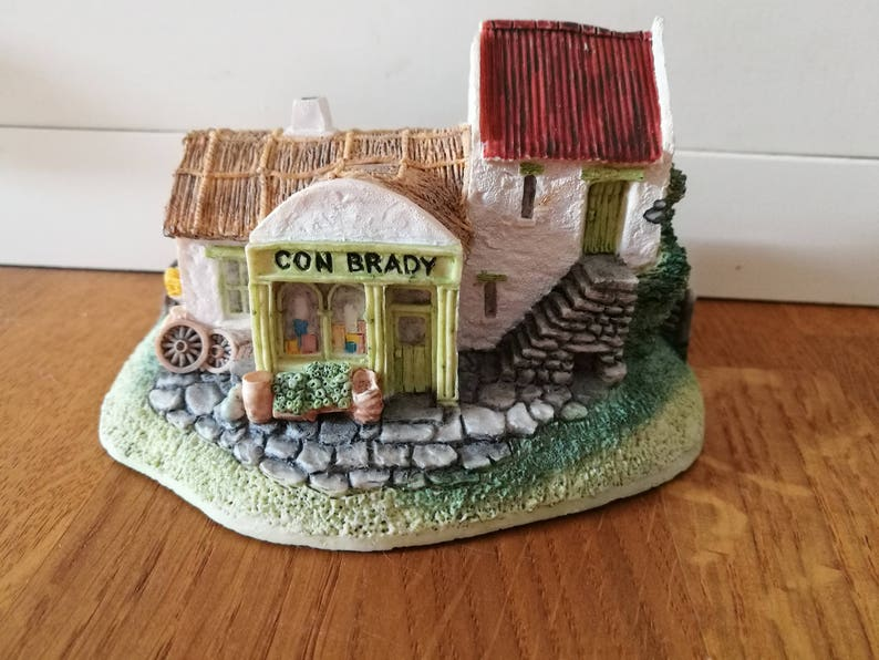 Awe Inspiring Vintage Collectable Cottage Con Brady Store Irish Heritage Collection Resin House Ornament Saint Patricks Day Handmade In Ireland Interior Design Ideas Gentotryabchikinfo
