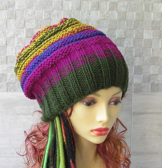 Grosso cappello maglia inverno accessori oversize per  8c1bf8382cfd