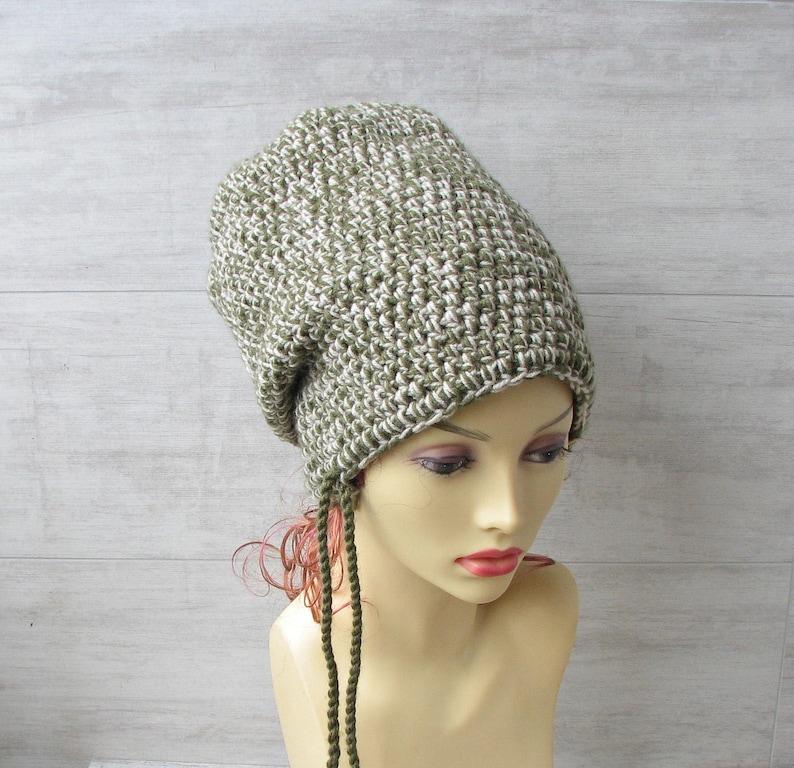 0665564acd3c5 Winter hat large head Hat for dread Dreadlock super long