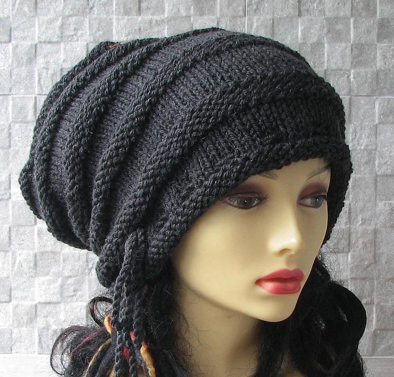 Unisex Loc Cap Dreadlock Stocking Cap Rasta Turban Hat Dread  682ef7f85b5