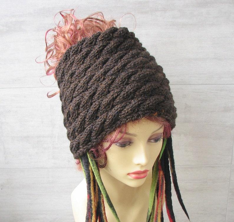 b9bcdc01a0441 Dreadlocks accessories knitted headband tube hat dreadlock