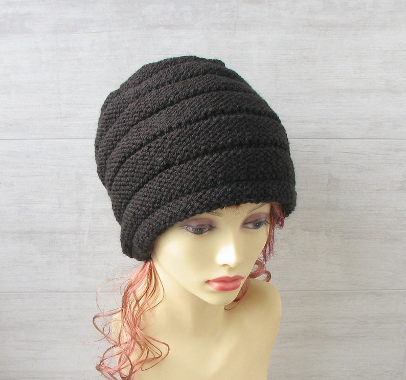 Large hat for dread dreadlock beanie oversized slouchy hat  cc904cfe82f