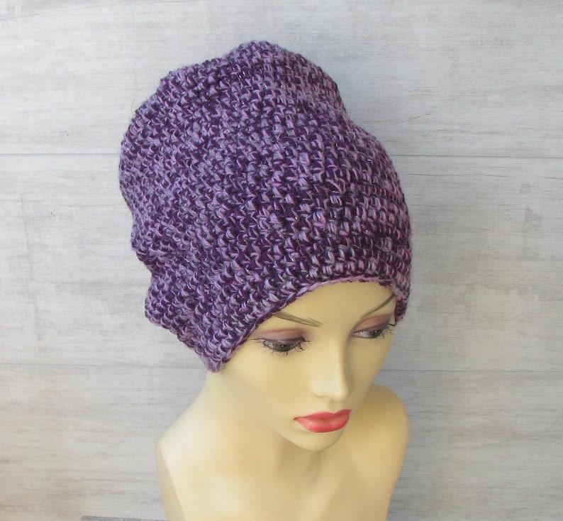 5997fb688ea57 Crochet Slouch Hat Dreadlock hat african dread tam hat for