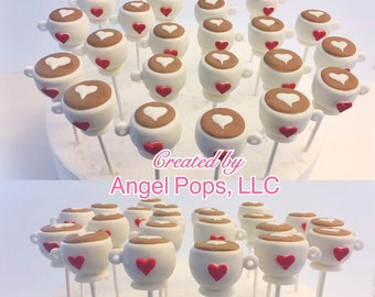 Coffee cake pops