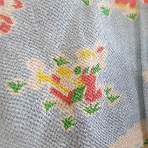 Vintage Baby Jacket Feed Sack Flour Sack Gardenin… - image 8